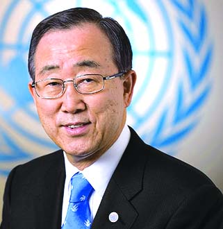 Ban Ki-moon due Friday
