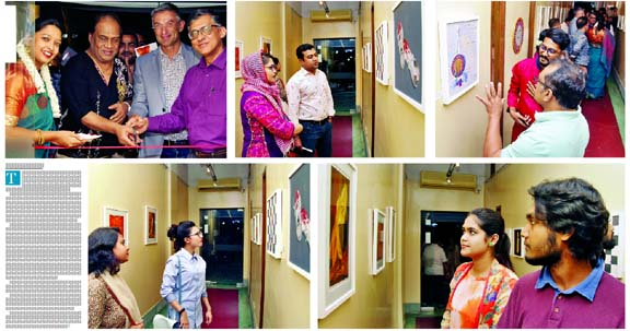 Group art exhibition 'Odds and Ends' at Alliance Francaise