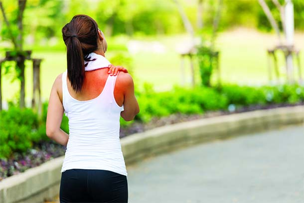 Why neck and shoulders pain after a long run