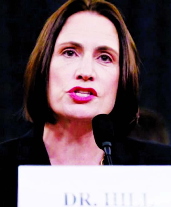 Democratic impeachment head: Fiona Hill