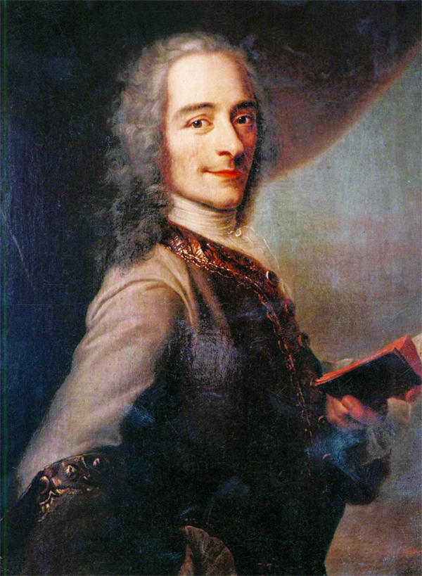 Great writer Voltaire