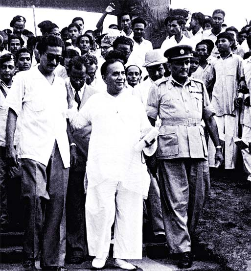 Suhrawardy and Bangabandhu : Communal harmony