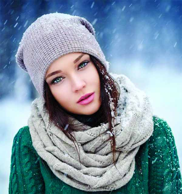 Preventing dryness of skin during winter