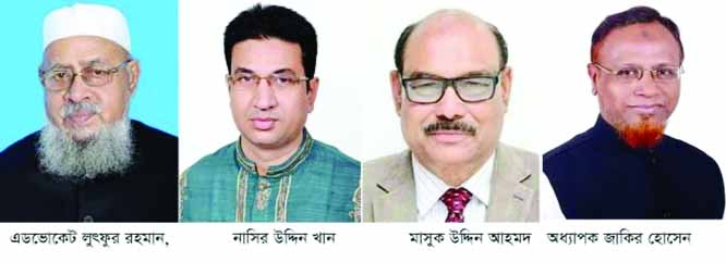 Mashuk-Zakir, Luthfur-Nasir  elected presidents,  GSs of  Dist, City Unit
