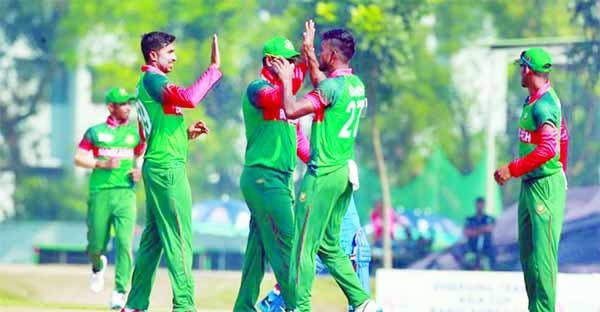 Soumya guides Bangladesh to 10-wicket victory over Bhutan