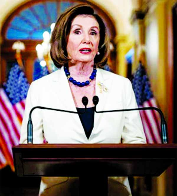 House will begin drafting impeachment charges against Trump: Pelosi