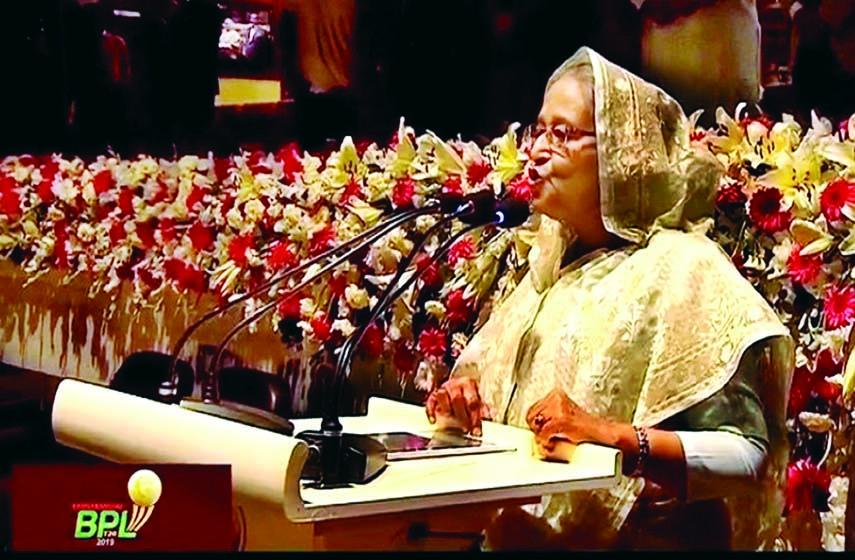 PM opens Bangabandhu Bangladesh Premier League