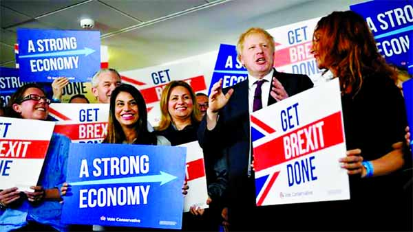 UK election campaign enters final rounds with Brexit on the line