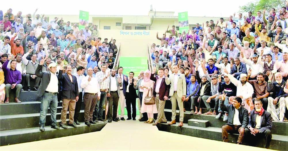 DINAJPUR:  A daylong 'Farmers' Meet'  was held at Dinajpur  jointly organised by Nestlé Bangladesh in collaboration with different government agricultural organisations recently.