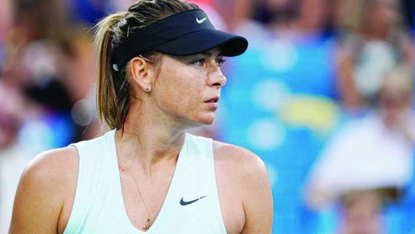 Maria Sharapova appears set to miss Tokyo Olympics