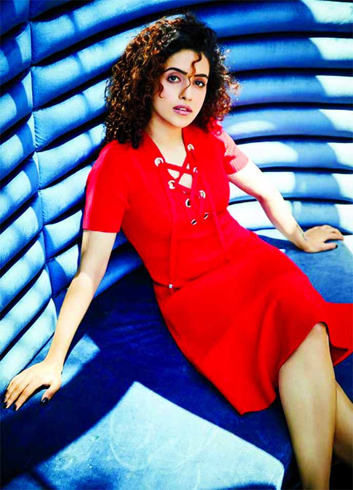 Sanya Malhotra has a message for all her young fans