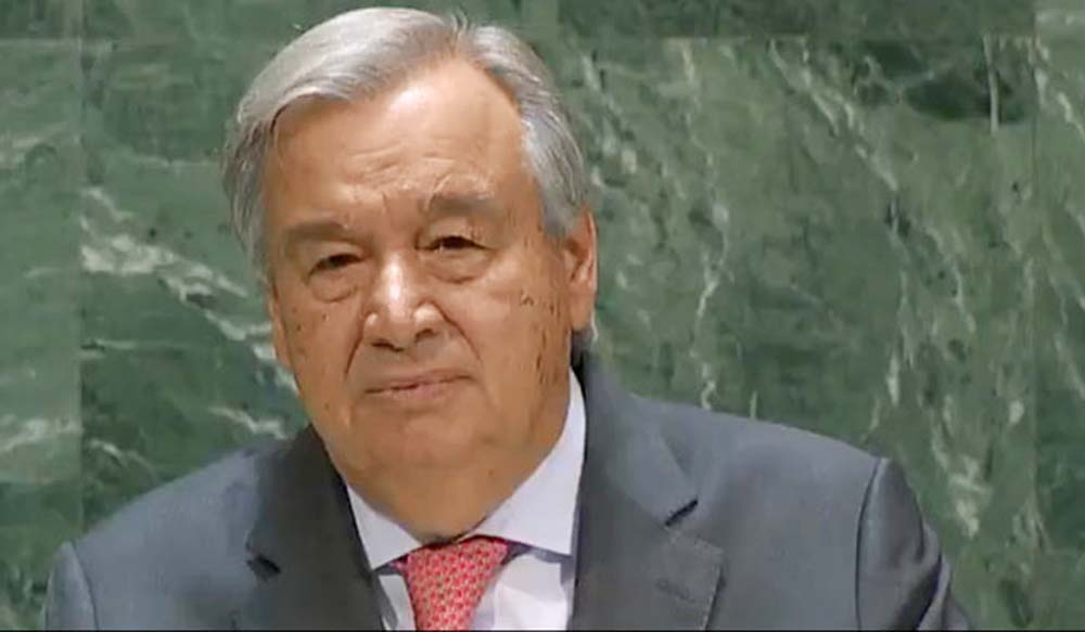 World getting hotter, 'more dangerous' at faster pace: UN Chief