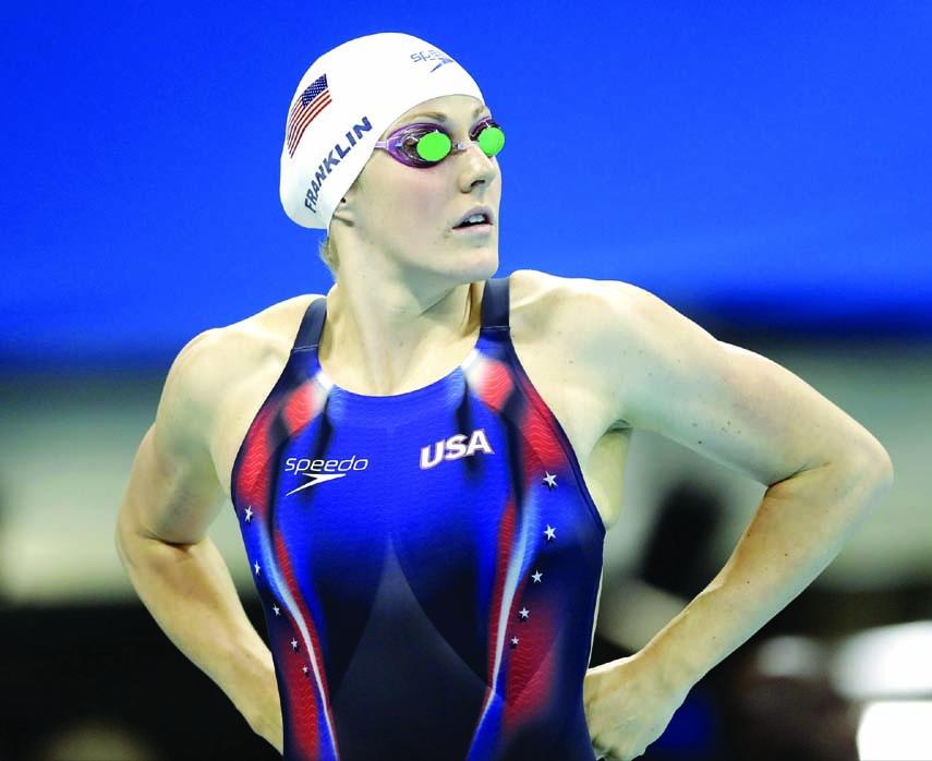 Missy Franklin 'so grateful,' embraces life after swimming