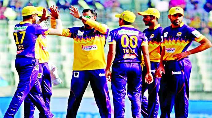 Rajshahi outplay Sylhet by eight wickets