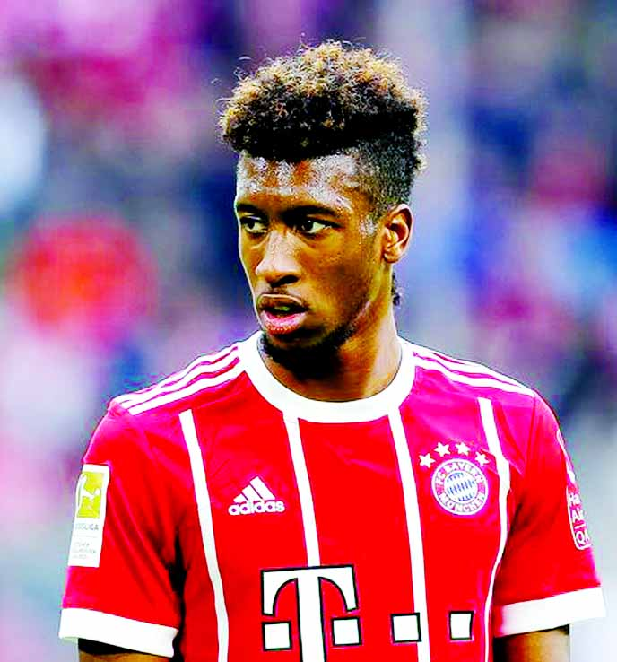 Coman expected back in January for Bayern despite knee injury
