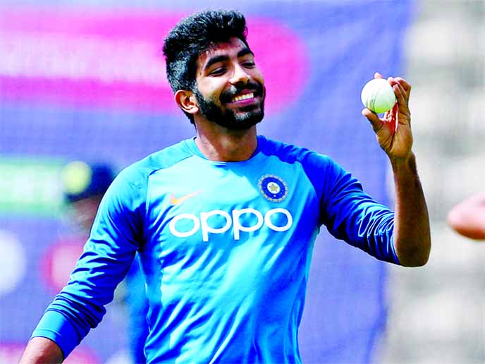 Bumrah to bowl in nets with Indian team in ahead of 2nd  ODI against Windies