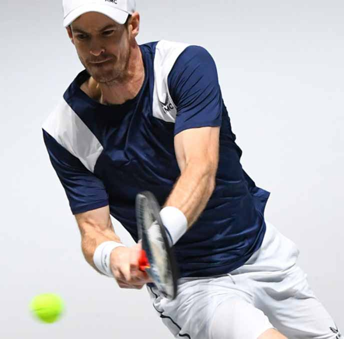 Murray's pre-season training interrupted by groin injury