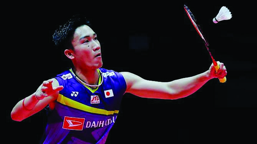 Badminton ace Momota closes on 11th title of the year
