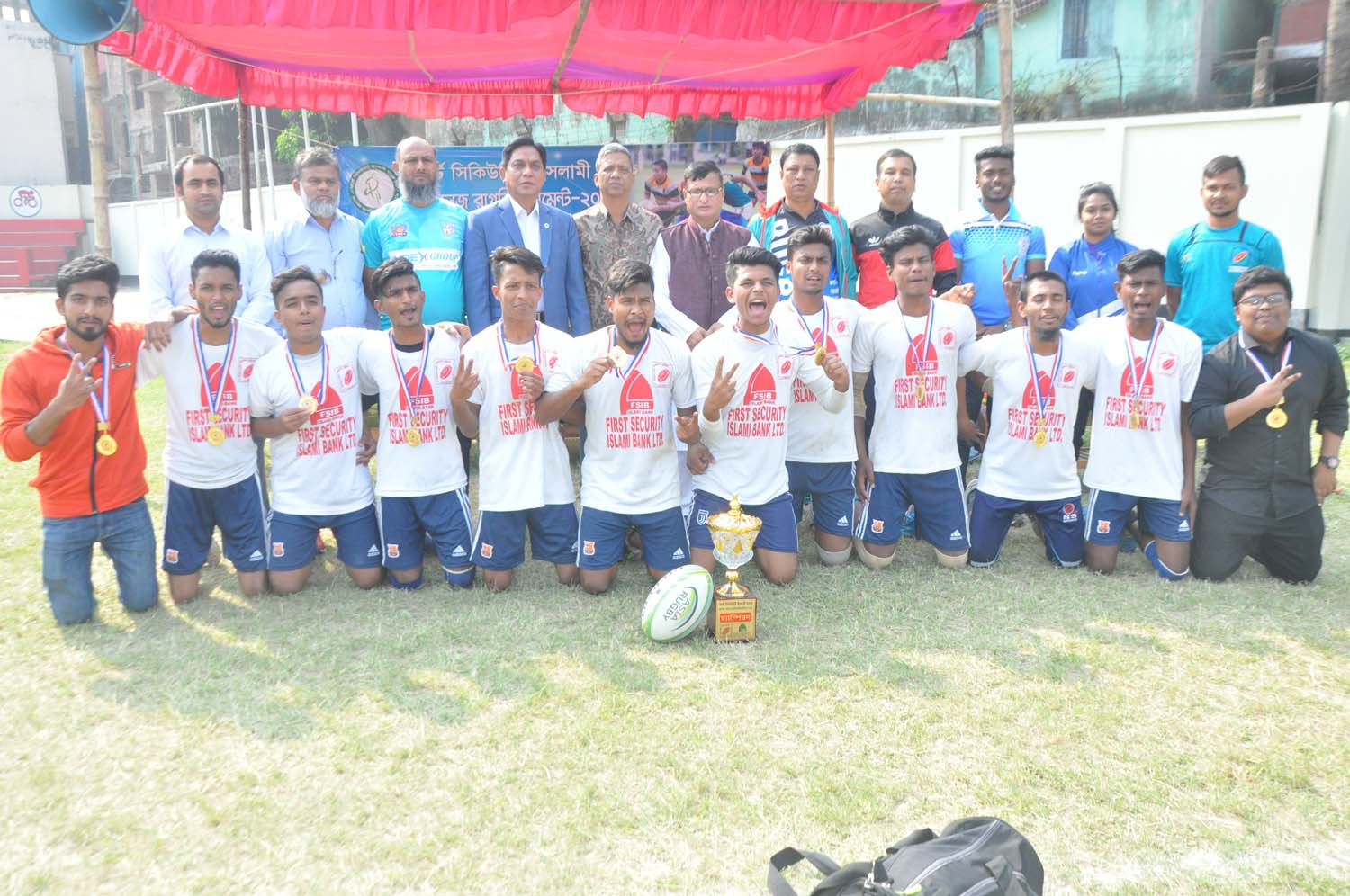 RCCI Public School & College emerge champions in College Rugby