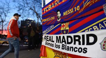 3,000 police and security for rescheduled 'Clasico'