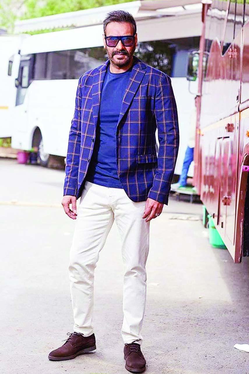 Ajay wraps up  Kolkata schedule of Maidaan