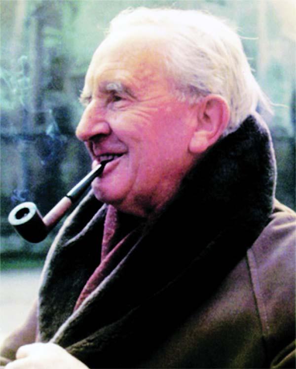 Writer, scholar J R R Tolkien
