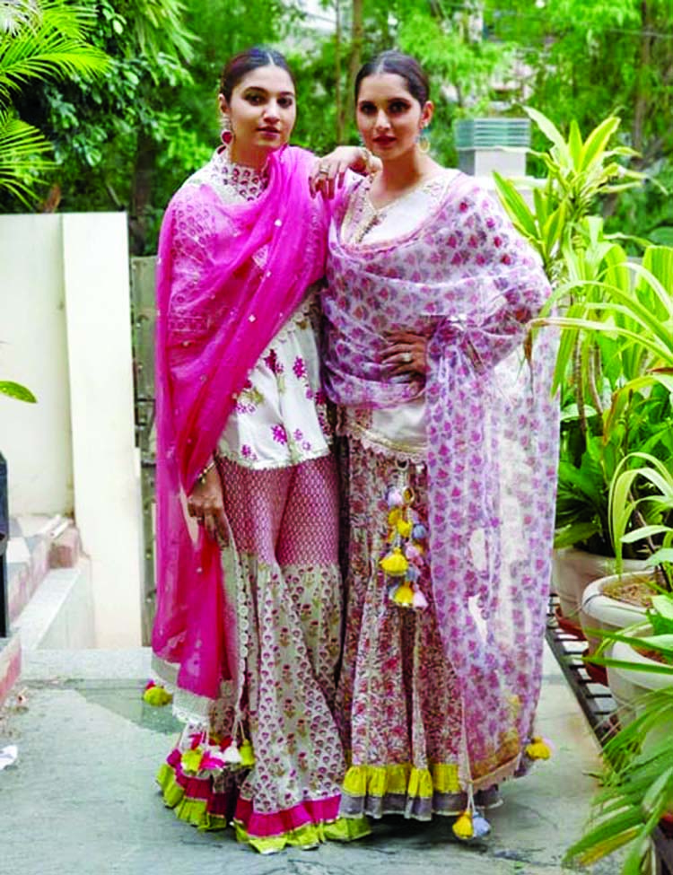 Sprint off the bridal spirit with the Mirza sisters