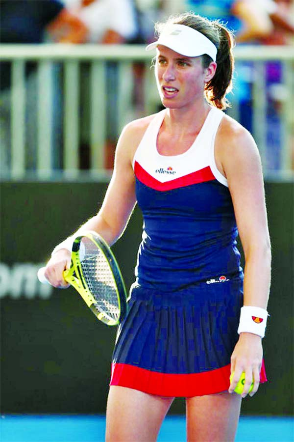 British No.1 Johanna Konta to miss 2020 Fed Cup to protect body