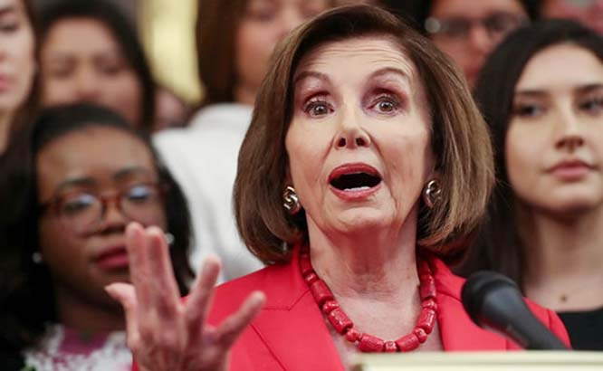 Facebook misleading people, its behaviour shameful: Pelosi