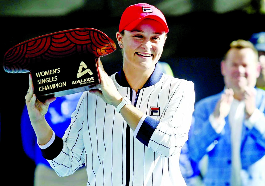 Barty clinches title of Adelaide International