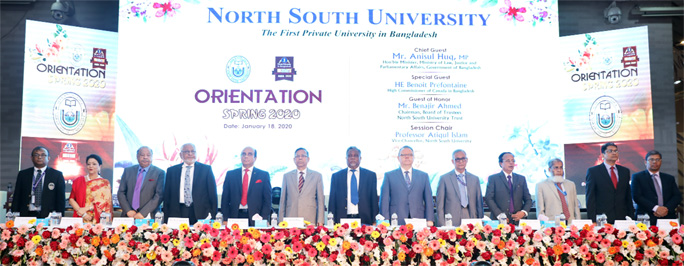 NSU holds orientation of Spring Semester