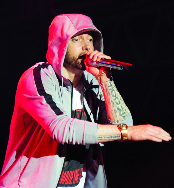 Eminem draws criticism for lyrics about Manchester bombing