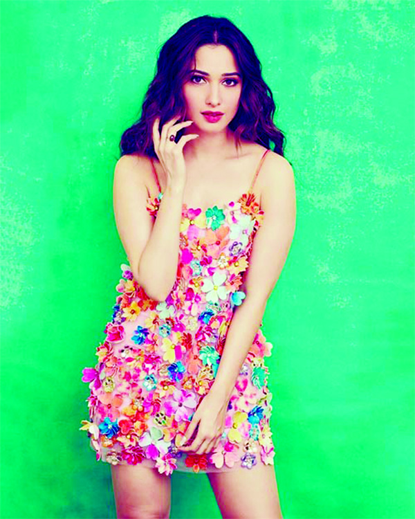 Tamannaah brings back the essence of spring in delightful dress