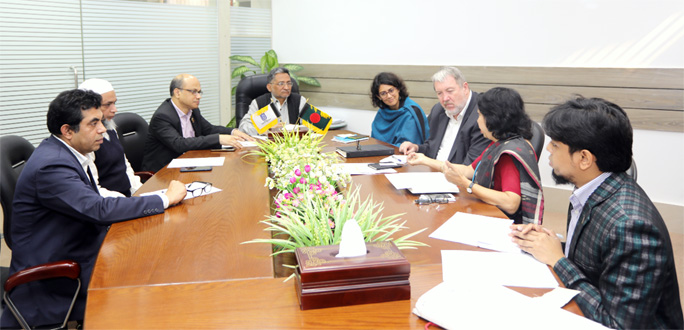 UNICEF delegation calls on UGC Chairman