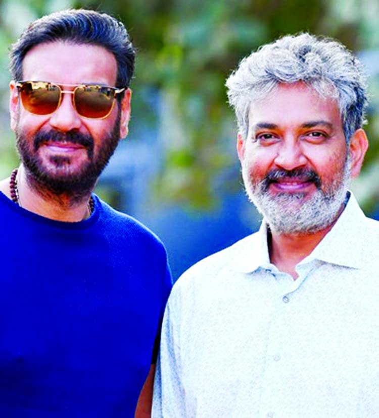 Ajay Devgn begins shooting for SS Rajamouli's RRR