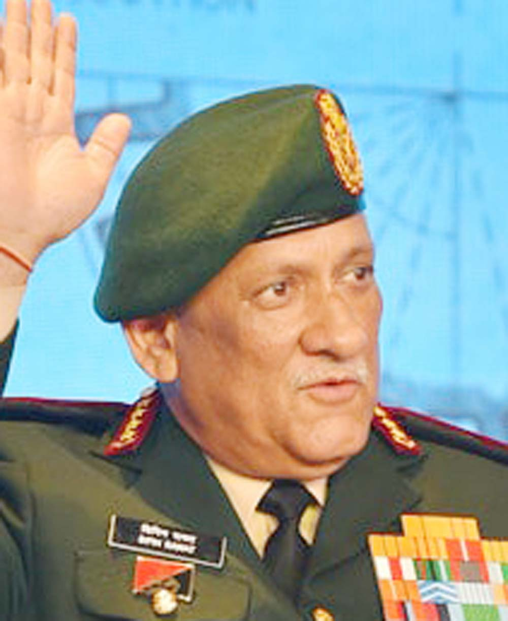 General Bipin Rawat downplays China's presence in Indian Ocean