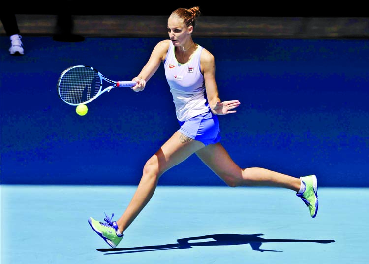 Second seed Pliskova starts Melbourne title tilt with win