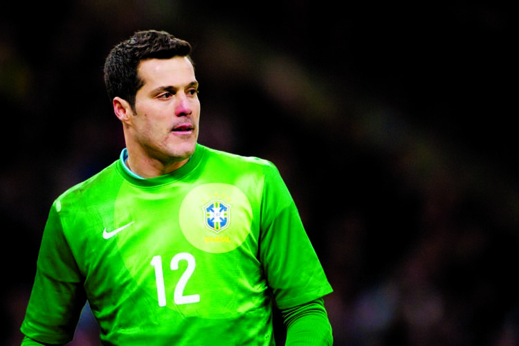 Brazilian legend Julio Cesar to arrive in Dhaka today