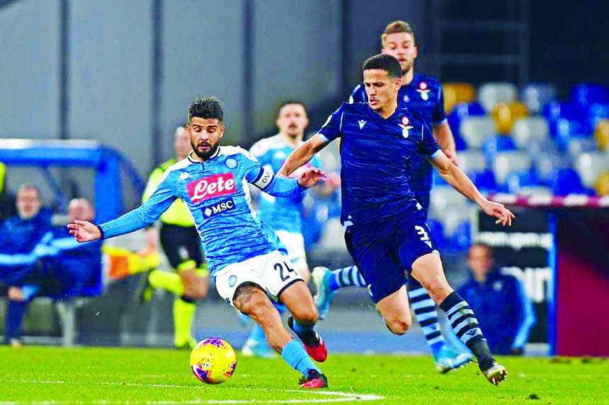 Insigne sends Napoli into Italian Cup semis