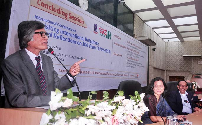 Int'l confce on 'Revisiting IR' at DU