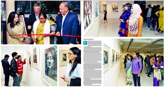 Sharmin's solo exhibition Expression of Life at AFD