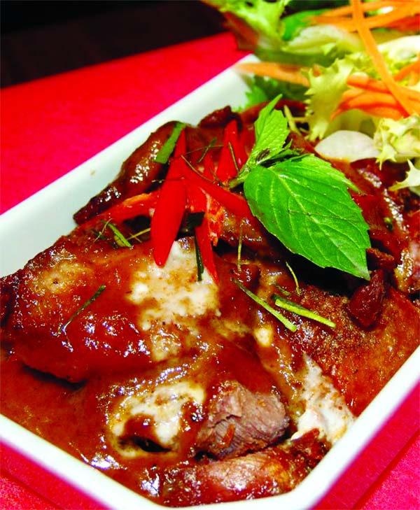 Roast Duck Panang