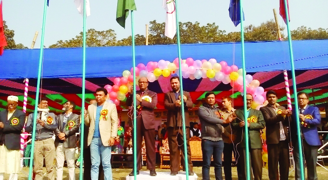 FARIDPUR: The annual  sports and cultural programme of Faridpur Sugar  Mills High School was held  recently.