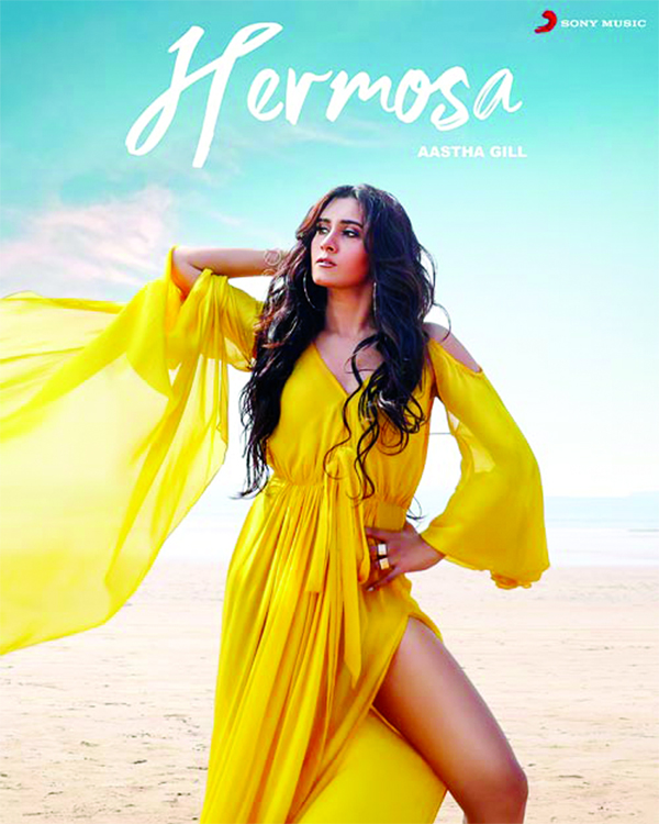 Aastha Gill all set to kickstart 2020 with a bang with her pop single Hermosa