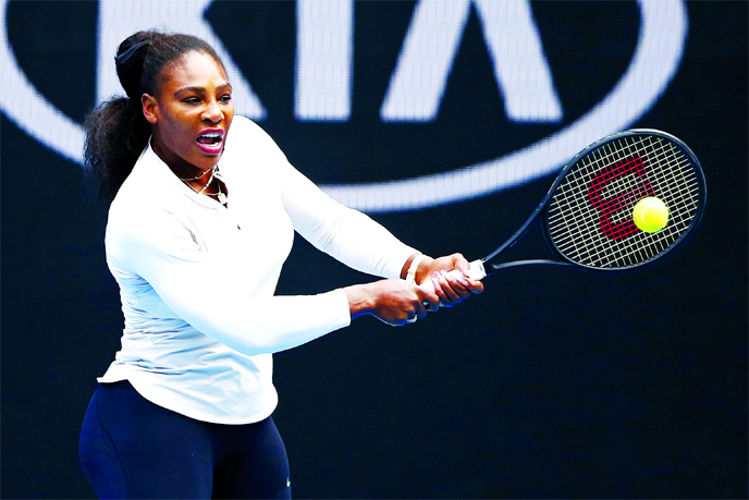 Williams heartbreak as China's Wang shatters Grand Slam record bid
