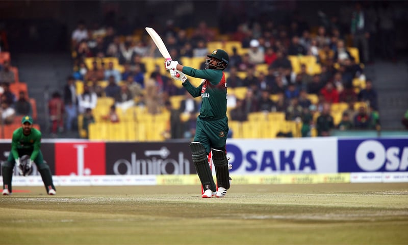 Pakistan cruise to 9-wicket win over Bangladesh
