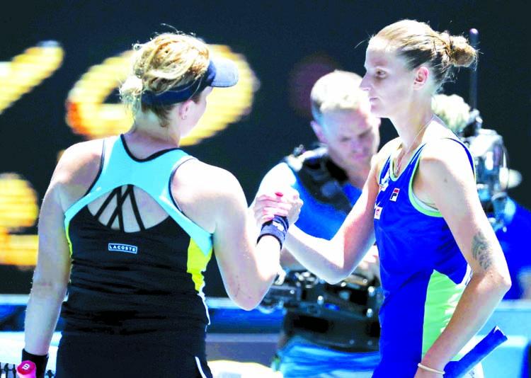 Second seed Pliskova out in latest Australian Open shock