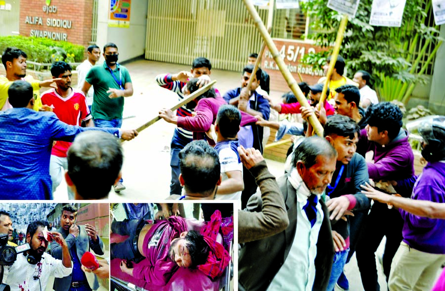 Ishraque's rally attacked