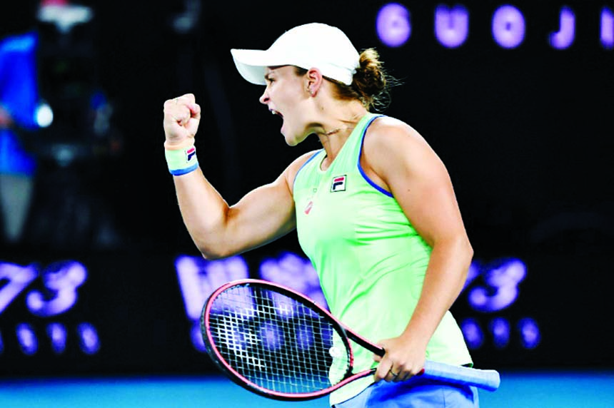 Barty, Jabeur out to extend Melbourne runs with history in sight