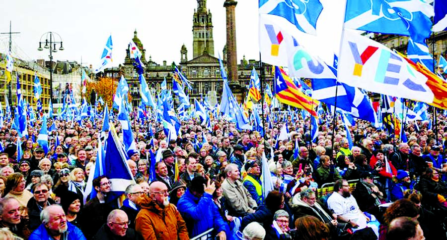 Scots revive call for independence
